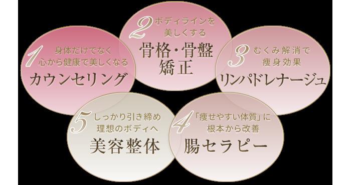 5つの特徴